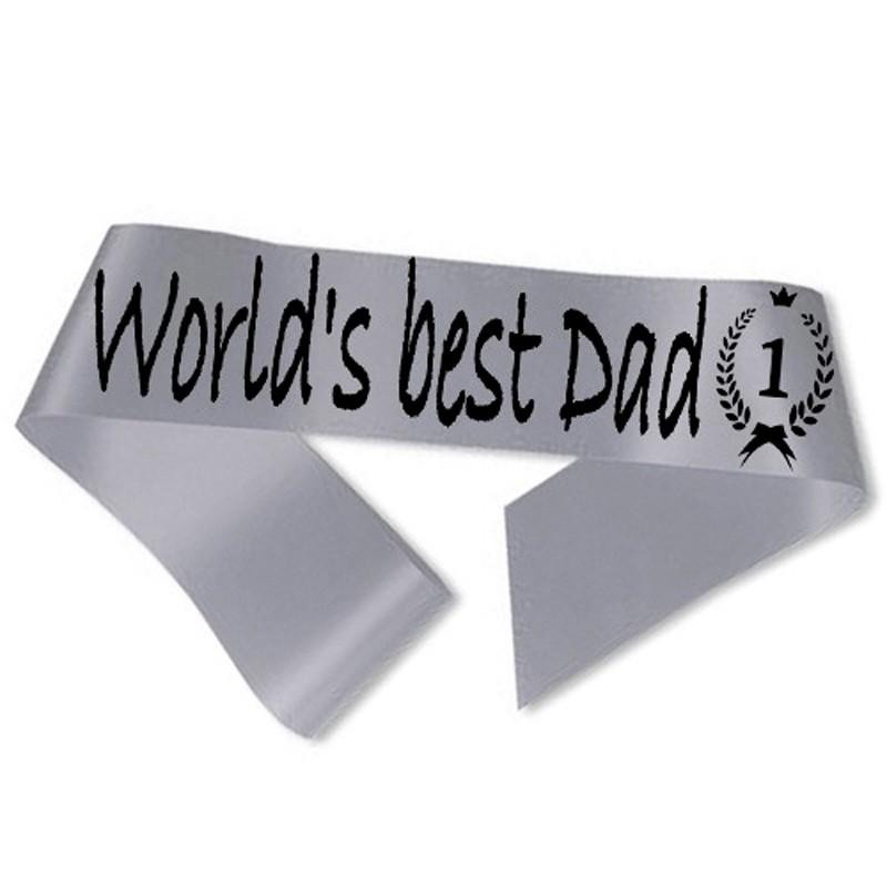 Billede af World´s best Dad Ordensbånd Sølv
