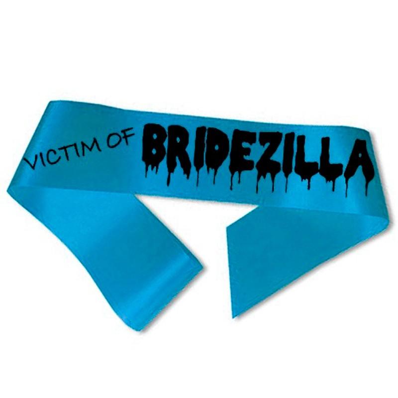 Billede af Victim of Bridezilla Ordensbånd aquablå