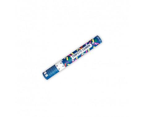 Konfettirør - Mix farver 40 cm Metal & Papir