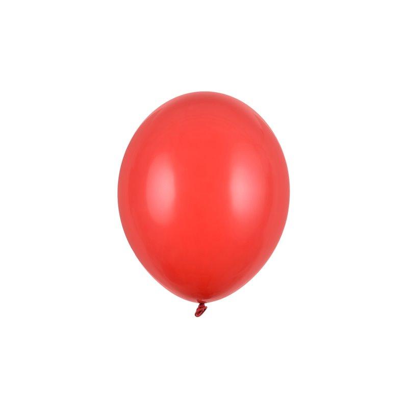 """Billede af 20 stk Standard rød balloner - str 10"""""""