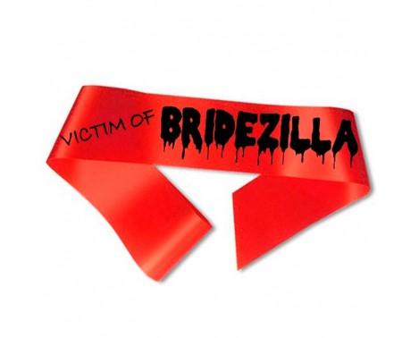 Victim of Bridezilla Ordensbånd rød