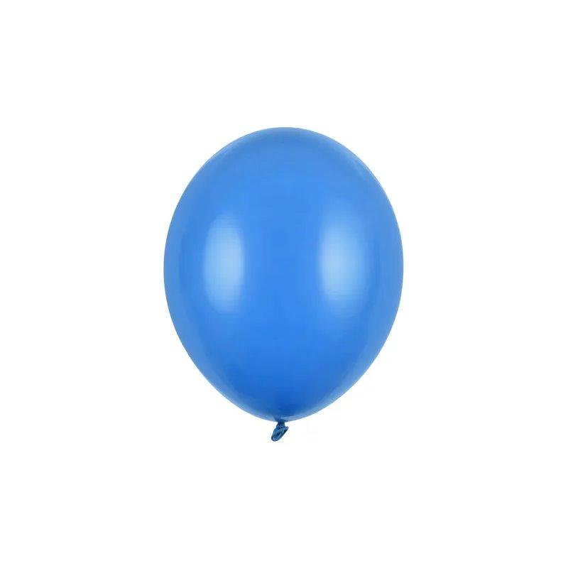 "100 stk Standard mid blue balloner - str 10"""