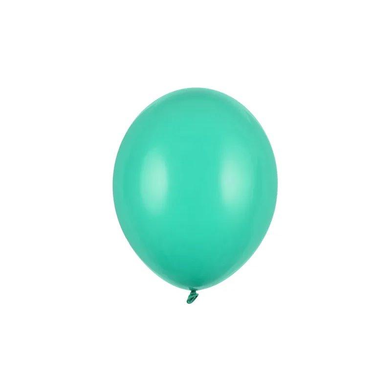 "100 stk Standard forest green balloner - str 10"""
