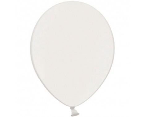 "100 stk Perle hvid balloner - str 10"""