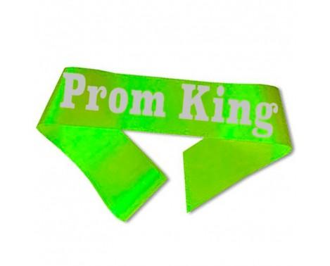 Prom King Ordensbånd Neon Grøn