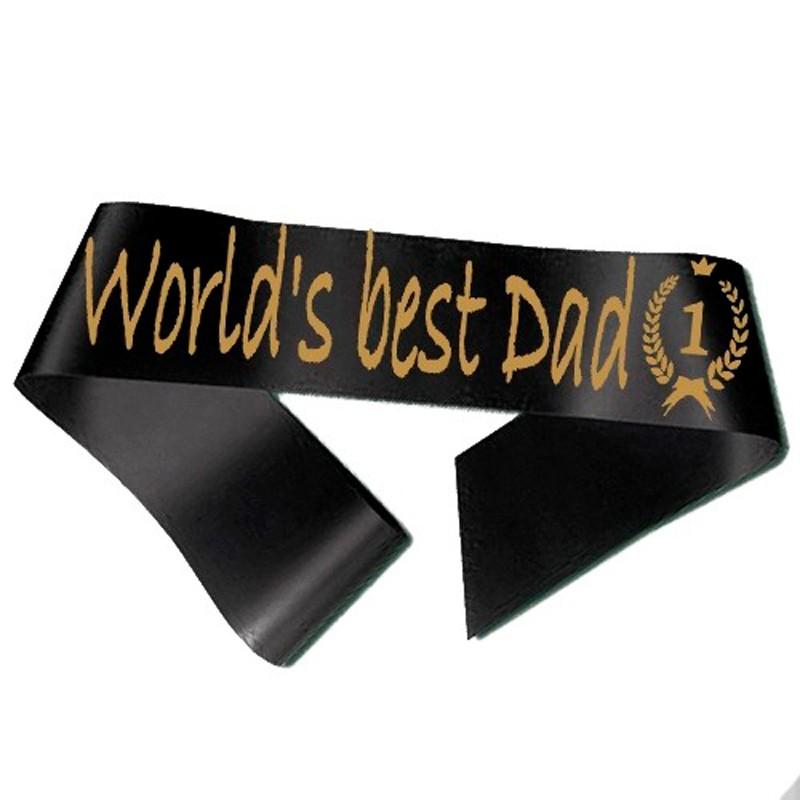 World´s best Dad Ordensbånd Sort