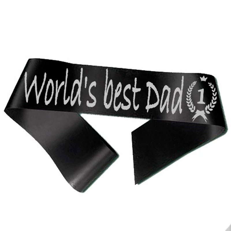 World´s best Dad Ordensbånd Sort