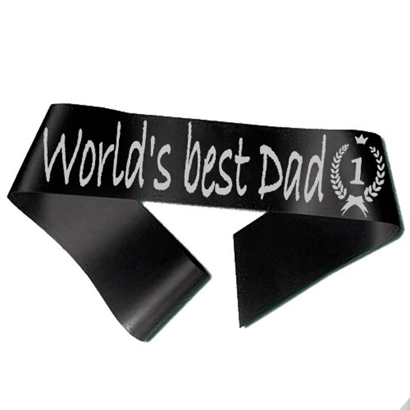 Billede af World´s best Dad Ordensbånd Sort