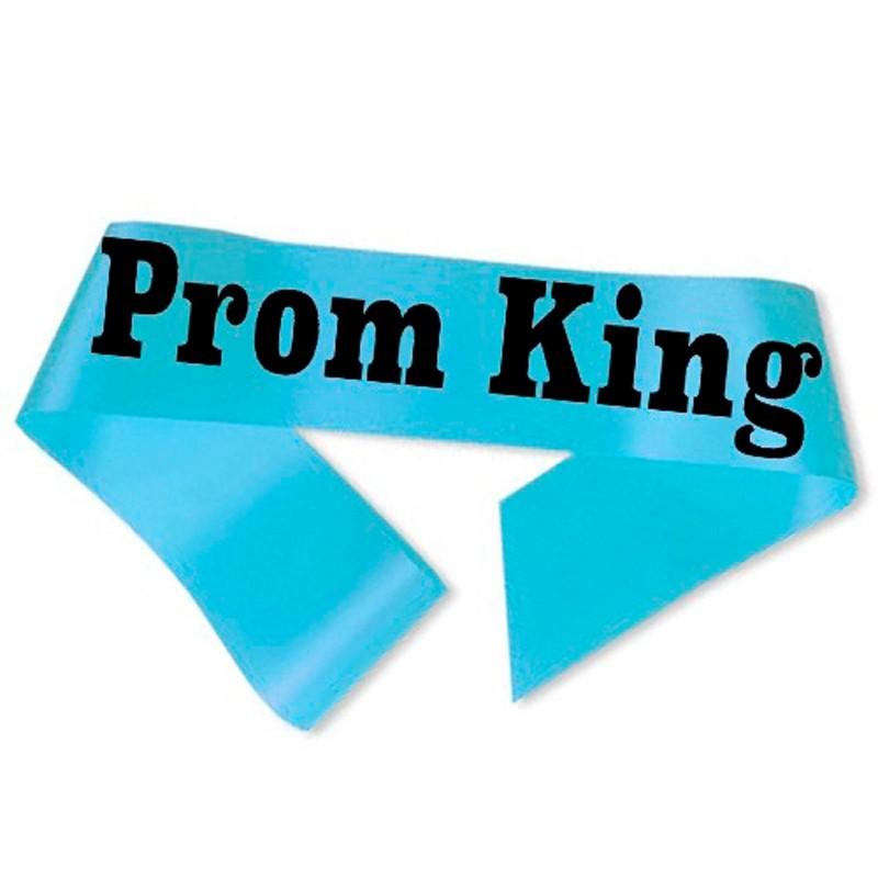Billede af Prom King Ordensbånd Lyseblå