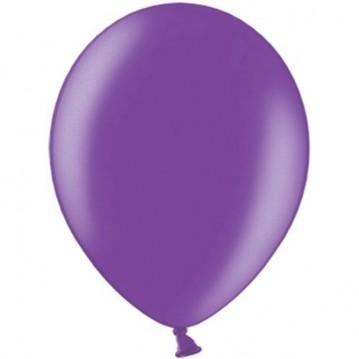 "100 stk Metallic lilla balloner - str 10"""
