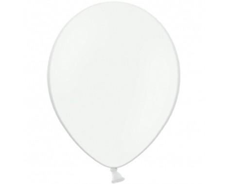 "100 stk Standard hvid balloner - str 12"""