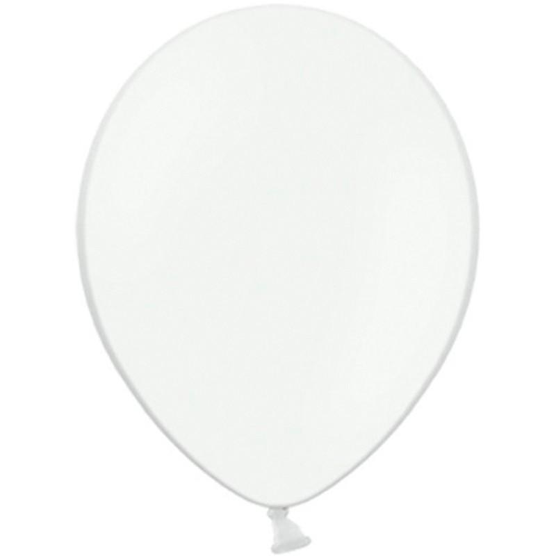 """Billede af 100 stk Standard hvid balloner - str 12"""""""