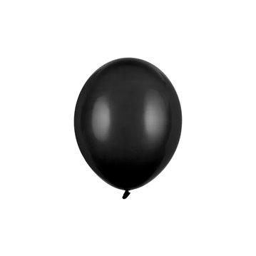 """100 stk Standard sort balloner - str 10"""""""