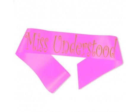 Miss Understood Ordensbånd Neon Pink