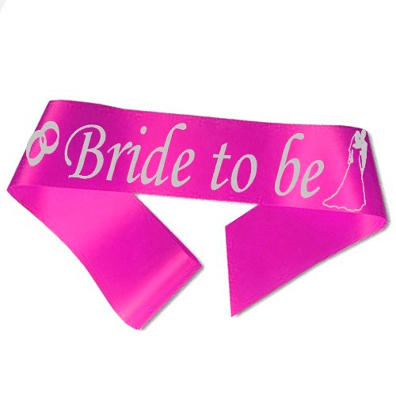 Image of   Bride to Be ordensbånd i fuchsia