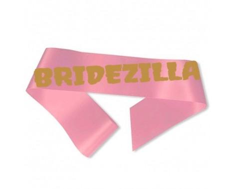 Bridezilla Ordensbånd pink
