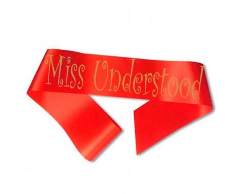 Miss Understood Ordensbånd Rød