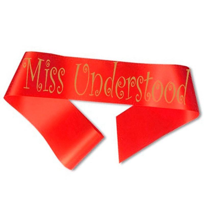 Billede af Miss Understood Ordensbånd Rød