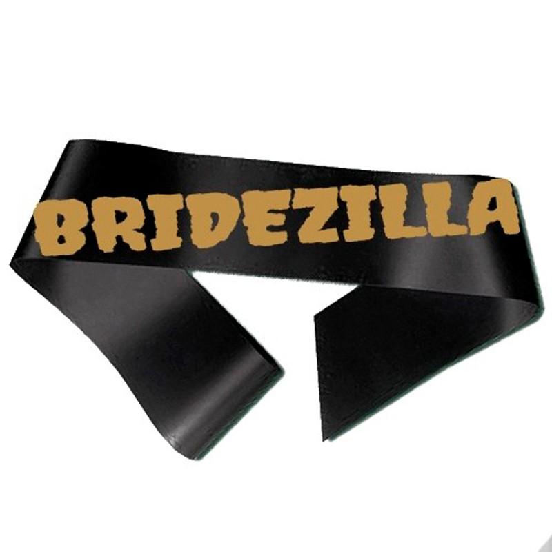 Billede af Bridezilla Ordensbånd sort