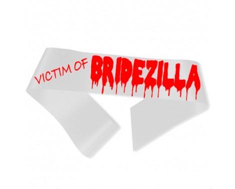 Victim of Bridezilla Ordensbånd hvid