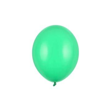 "100 stk Standard bright green balloner - str 10"""