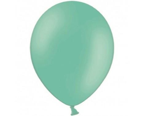 "20 stk Standard mintgrøn balloner - str 12"""