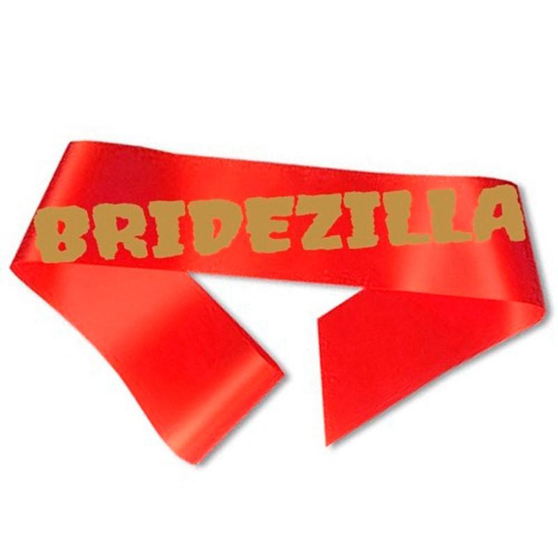 Billede af Bridezilla Ordensbånd rød