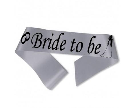 Bride to Be ordensbånd i sølv