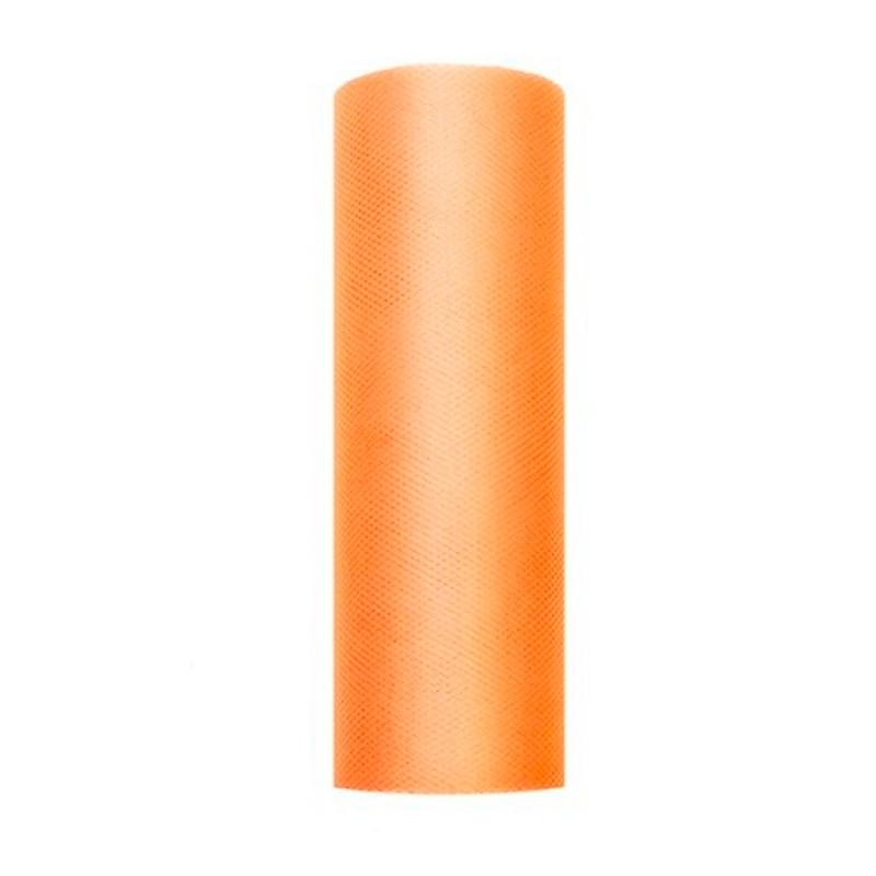 Billede af Tyl i Orange 0,15 x 9 meter.