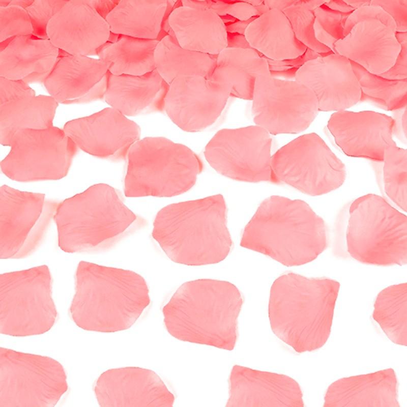 Rosenblade 500 stk pink silke