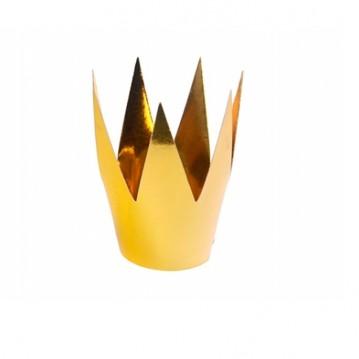 Guld prinsesse krone - 3 stk.