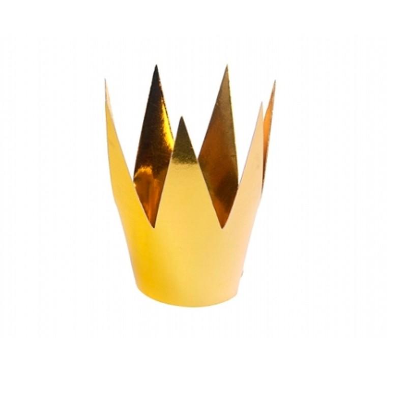 3 stk Guld kroner til prinsessen