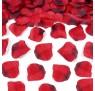 Rosenblade 100 stk røde og mørkerøde silke