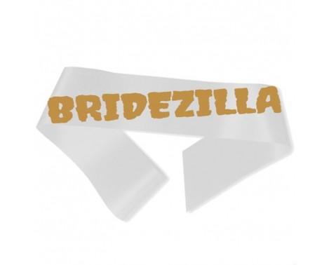 Bridezilla Ordensbånd hvid
