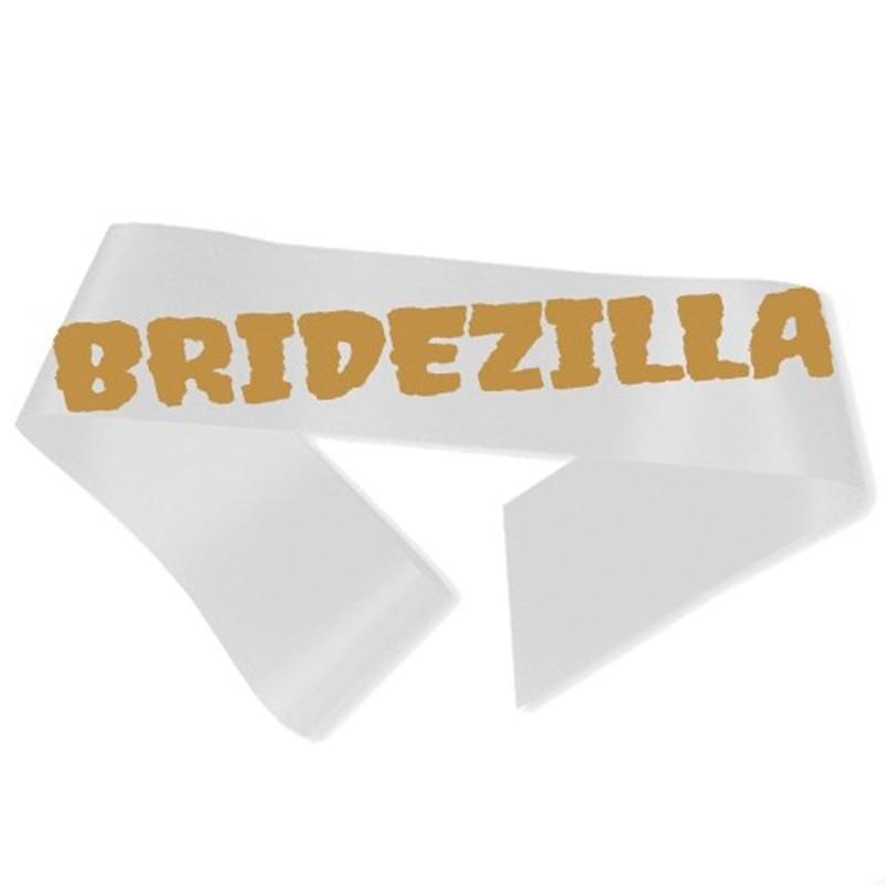 Billede af Bridezilla Ordensbånd hvid