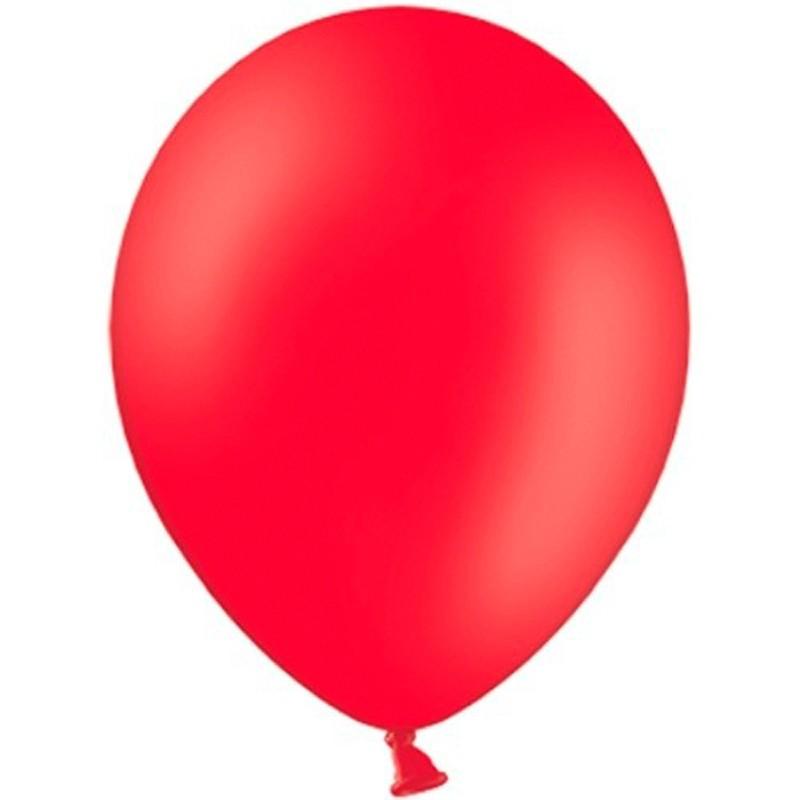 """Billede af 100 stk Standard rød balloner - str 12"""""""