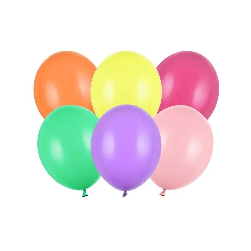"100 stk Standard mix farver balloner - str 10"""