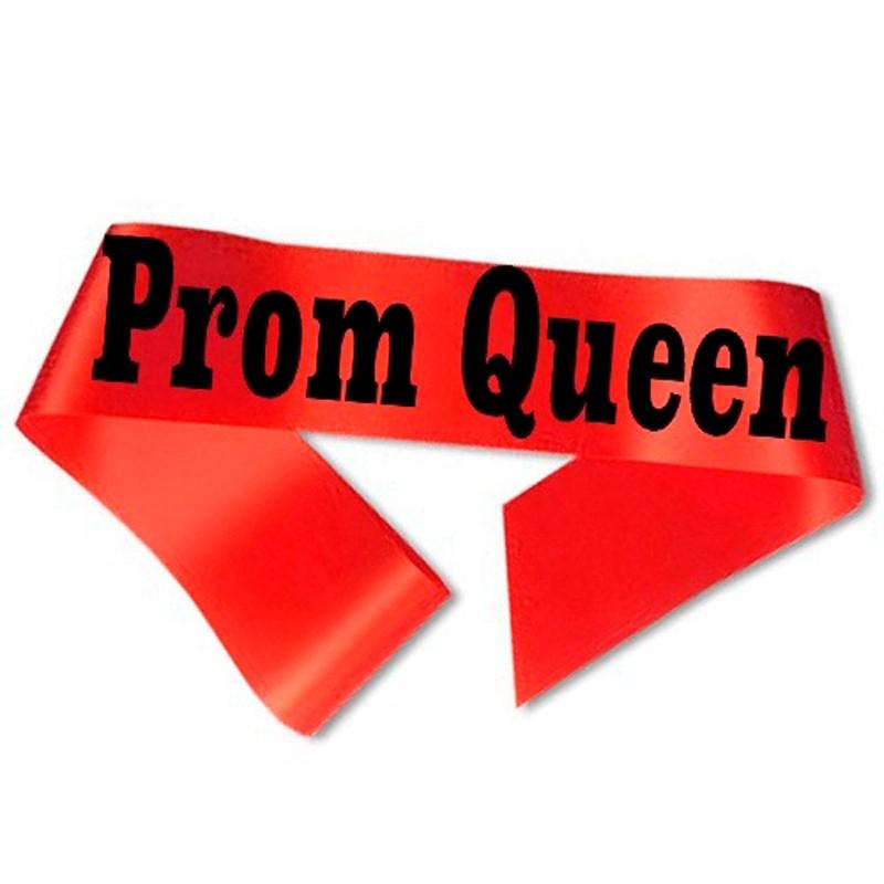 Prom Queen Ordensbånd Rød