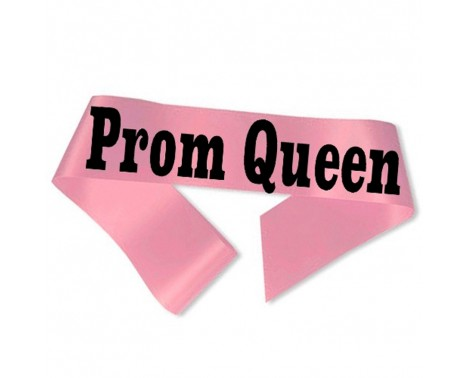 Prom Queen Ordensbånd Pink
