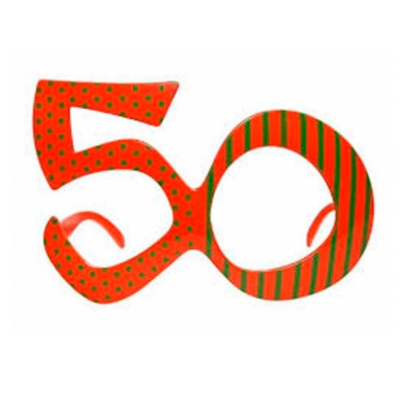 Billede af Festbrille til 50 års fødselsdag
