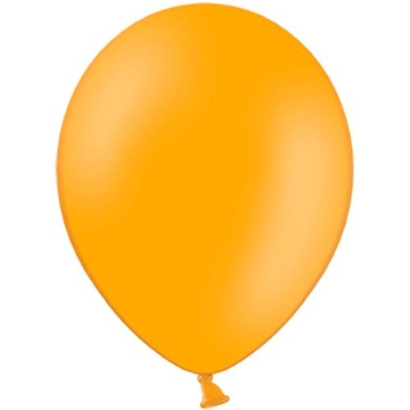 """Billede af 20 stk Standard orange balloner - str 12"""""""