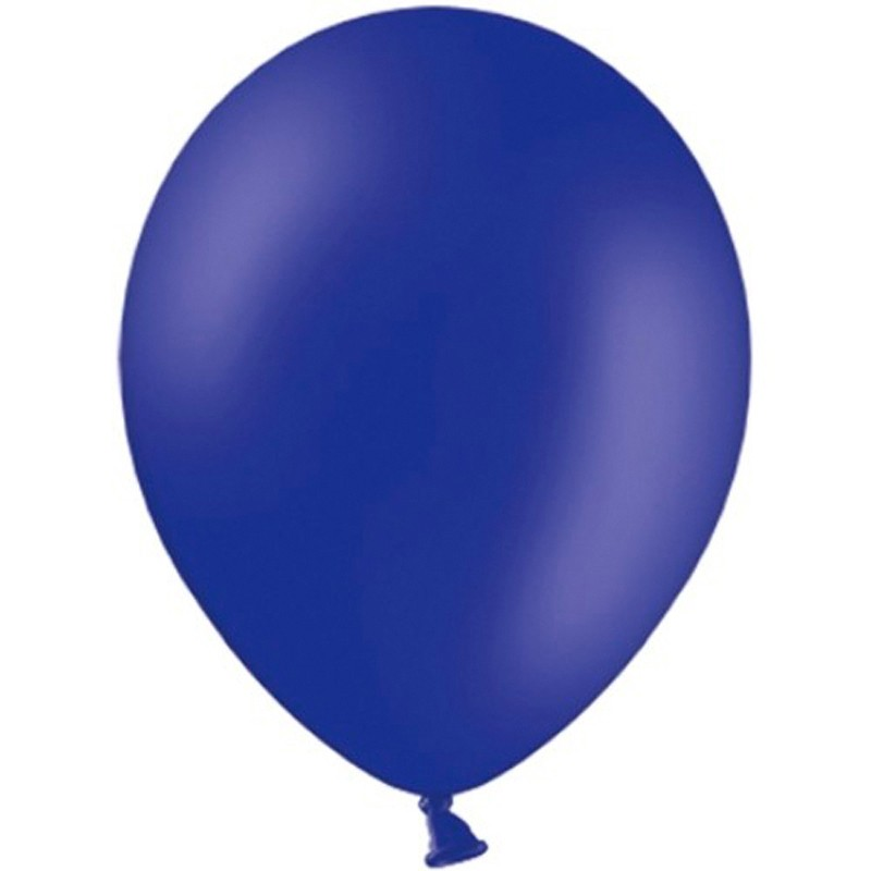 "100 stk Standard night blue balloner - str 10"""