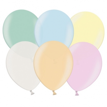 "100 stk Perle mix farver balloner - str 10"""