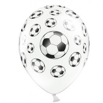 6 stk Fodbold balloner