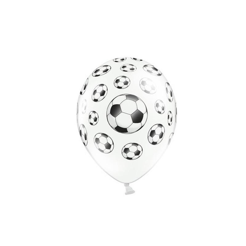 Billede af 6 stk Fodbold balloner