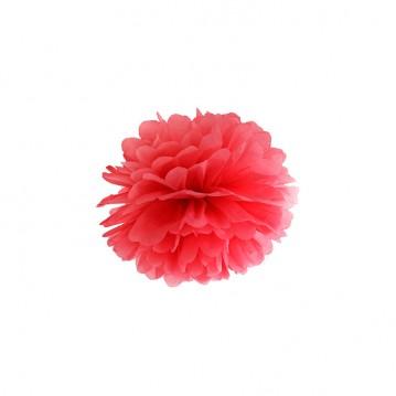 Pom Pom Rød 25 cm