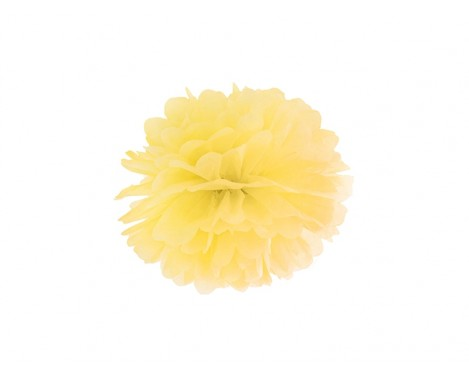 Pom Pom Gul 25 cm