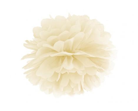 Pom Pom Creme 35 cm.