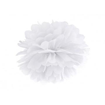 Pom Pom Hvid 35 cm.