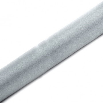 Organza Sølv med glimmer 0,36 x 9m